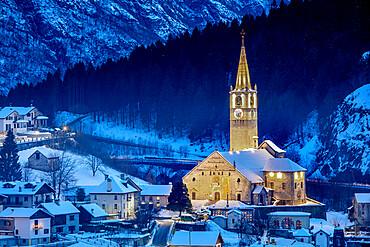 Monumental Parish Church of San Gaudenzio, Baceno, Val d'Ossola, Verbano Cusio Ossola, Piemonte, Italy, Europe
