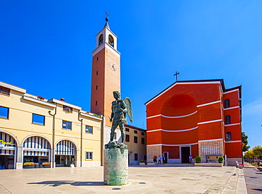 San Michele Arcangelo Church, Aprilia, Latina, Lazio, Italy, Europe