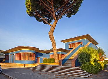 Palazzo delle Poste, Sabaudia, Latina, Lazio, Italy, Europe