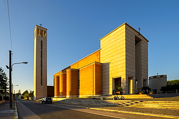 The Santissima Annunziata Church, Sabaudia, Latina, Lazio, Italy, Europe