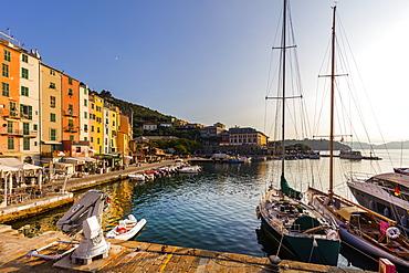 Calata Doria, Portovenere, Liguria, Italy, Europe