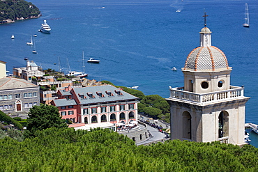 Grand Hotel, Portovenere, Liguria, Italy, Europe