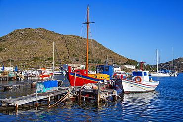 Skala, Isle of Patmos, Dodecanese, Greek Islands, Greece, Europe