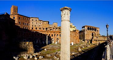 Foro Traiano (Trajan's Forum), UNESCO World Heritage Site, Rome, Lazio, Italy, Europe