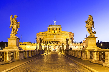 Castel Sant'Angelo, UNESCO World Heritage Site, Rome, Lazio, Italy, Europe