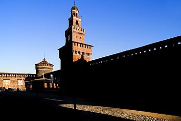 Castello Sforzesco, Milan, Lombardy, Italy, Europe