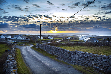 Far west of the island, Inish More, Aran Islands, Republic of Ireland, Europe