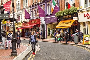 Wicklow Street, Creative Quarter, Dublin, Republic of Ireland, Europe