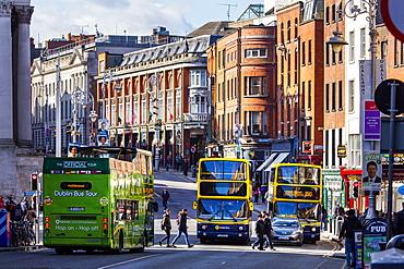 Dame Street, Dublin, Republic of Ireland, Europe