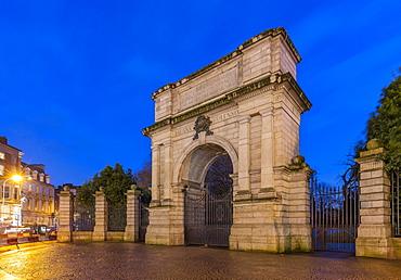 The Fusilier Arch, Dublin, Republic of Ireland, Europe