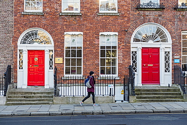 Merrion Street Up, Dublin, Republic of Ireland, Europe