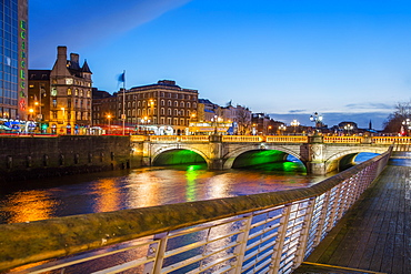 O'Connell Bridge, Dublin, Republic of Ireland, Europe