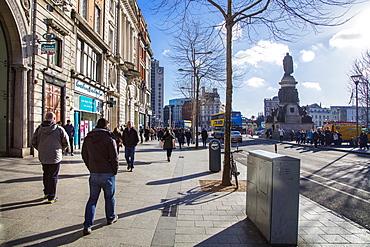 O'Connoll Street, Dublin, Republic of Ireland, Europe
