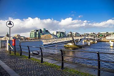 The Sean O'Casey Bridge, Dublin, Republic of Ireland, Europe