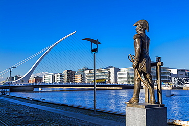 The Samuel Beckett Bridge, Dublin, Republic of Ireland, Europe