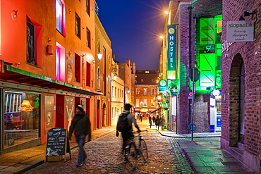 Temple Lane, Temple Bar, Dublin, Republic of Ireland, Europe