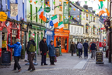 Hight Street, Galway, County Galway, Connacht, Republic of Ireland, Europe