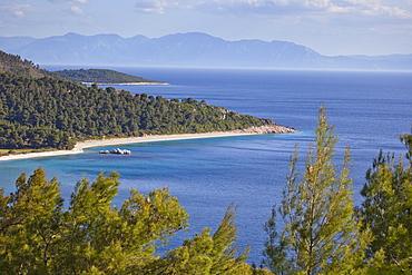 Milia Beach, Skopelos, Sporades Island group, Greek Islands, Greece, Europe