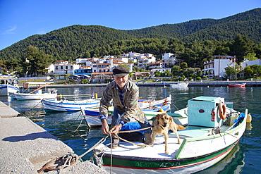 Elios, Skopelos, Sporades Island group, Greek Islands, Greece, Europe
