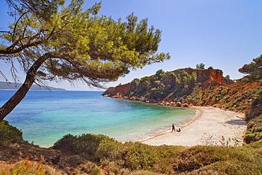 Kokkinokastro beach, Alonissos Island, Sporades, Greek Islands, Greece, Europe
