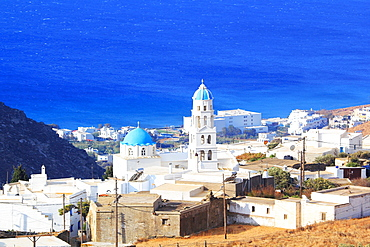 The village of Chatzirados, Tinos Island, Cyclades, Greek Islands, Greece, Europe