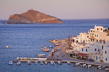 The village of Panormos, Tinos Island, Cyclades, Greek Islands, Greece, Europe