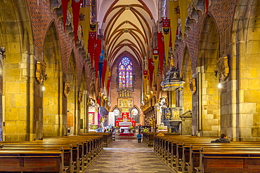 Interior, The Cathedral, Wroclaw, Poland, Europe