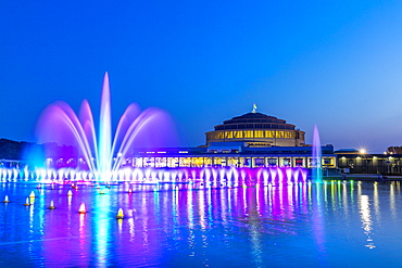 The Millennium Hall and Multimedia Fountain, Wroclaw, Poland, Europe