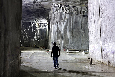 Marble quarries, Carrara, Tuscany, Italy, Europe