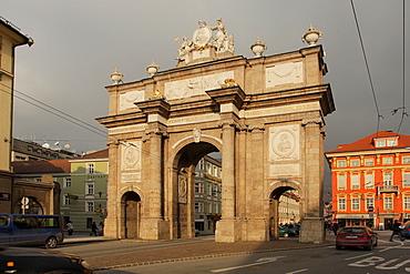 The Triumphal Arch, Innsbruck, Tyrol, Austria, Europe