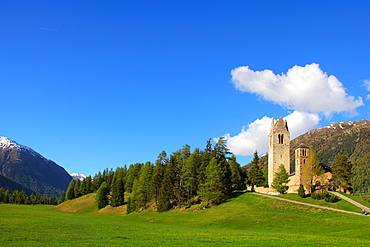Schlarigna (Celerina), Canton of Graubunden (Grigioni), Switzerland, Europe