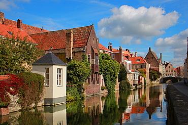 Gouden-Handstraat, Bruges, Flemish Region, West Flanders, Belgium, Europe