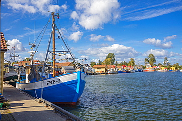 Fishing Harbor, Freest, Kroslin, Mecklenburg-Vorpommern, Germany, Europe