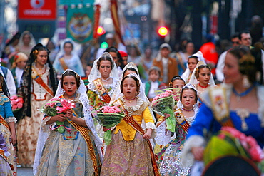 The Falles (Las Fallas) Festival, UNESCO Intangible Cultural Heritage, Valencia, Valencian Community, Spain, Europe