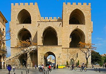 The Quart Towers, Valencia, Valencian Community, Spain, Europe