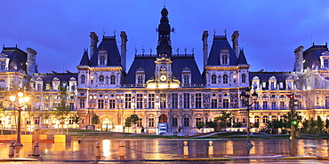 City Hall, Paris, France, Europe