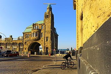 St. Pauli-Landungsbrucken, Hamburg, Germany, Europe