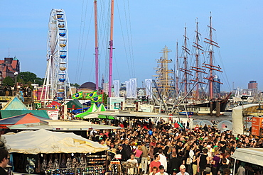 Hafengeburtstag Festival, Hamburg, Germany, Europe