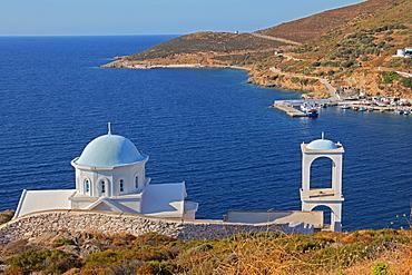 Agia Marina Church, Fourni Island, Aegean Island, Greek Islands, Greece, Europe