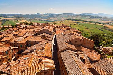 Pienza, UNESCO World Heritage Site, Tuscany, Italy, Europe