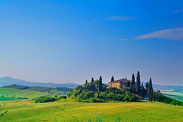 Montalcino, Val d'Orcia, UNESCO World Heritage Site, Tuscany, Italy, Europe