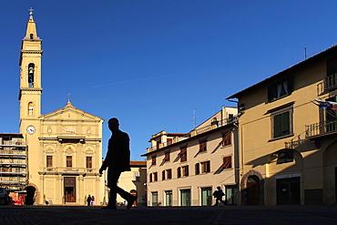 Piazza Varchi, Montevarchi, Tuscany, Italy, Europe