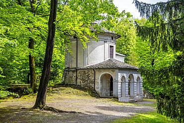 Sacro Monte Calvario, Orta San Giulio, Piemonte (Piedmont), Italy, Europe