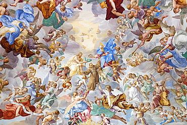 Sacro Monte Calvario, Chapel XX, Orta San Giulio, Piemonte (Piedmont), Italy, Europe
