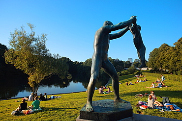 Vigeland Park, Oslo, Norway, Scandinavia, Europe