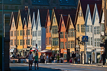 Bryggen, UNESCO World Heritage Site, Bergen, Norway, Scandinavia, Europe
