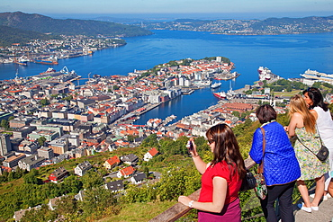 Floyen, Bergen, Norway, Scandinavia, Europe