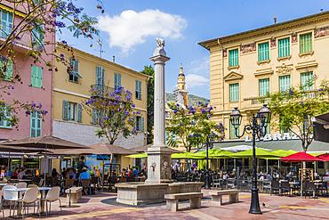 Menton, Alpes Maritime, Provence Alpes Cote d'Azur, French Riviera, France, Mediterranean, Europe