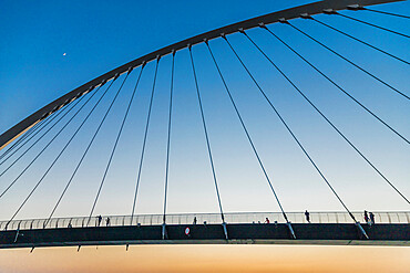 Tolerance Bridge, Dubai Canal, Dubai, United Arab Emirates, Middle East