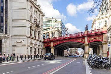 Holborn Viaduct bridge, London, England, United Kingdom, Europe